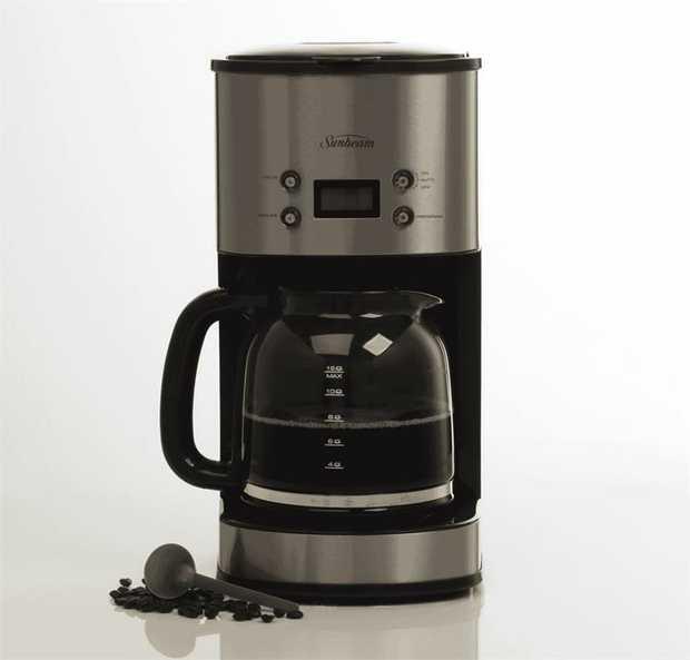 This Sunbeam coffee machine has a stainless steel finish. Brew many mugfuls of comforting, enjoyable...