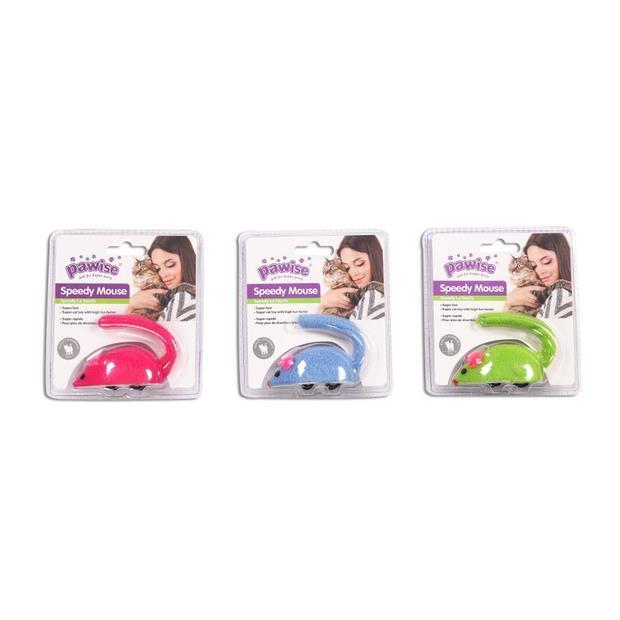 Pawise Cat Toy Speedy Mouse Each Pet: Cat Category: Cat Supplies  Size: 0.1kg  Rich Description: Smart...