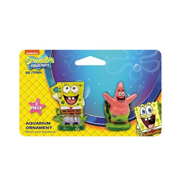 Penn Plax Spongebob And Patrick Mini On Card Each Pet: Fish Category: Fish Supplies  Size: 0.1kg  Rich...