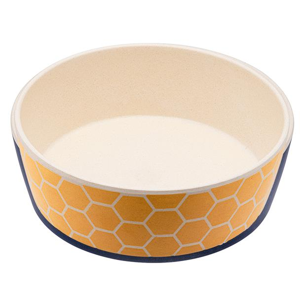 Beco Bowl Save The Bees Large Pet: Dog Category: Dog Supplies  Size: 0.2kg  Rich Description: Beco pet...