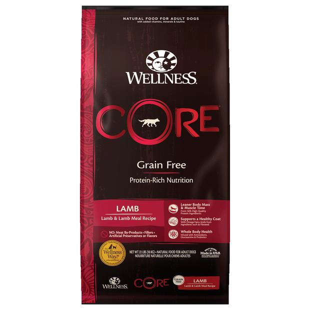 Wellness Core Grain Free Lamb Dry Dog Food 1.8kg Pet: Dog Category: Dog Supplies  Size: 1.8kg  Rich...