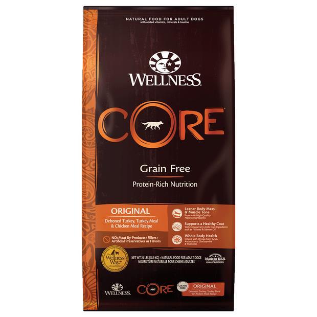 Wellness Core Grain Free Original Formula Dry Dog Food 1.8kg Pet: Dog Category: Dog Supplies  Size:...