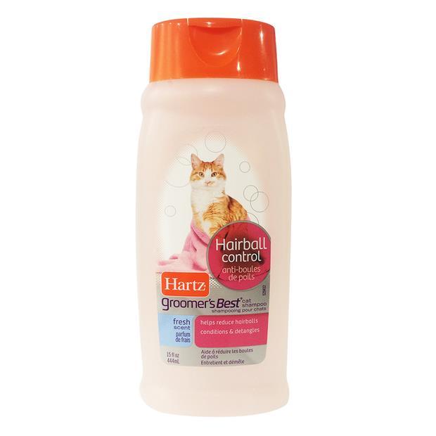Hartz Cat Shampoo Hairball Control 444ml Pet: Cat Category: Cat Supplies  Size: 0.5kg  Rich...