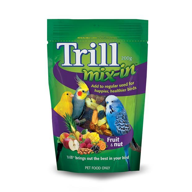 Trill Fruit And Nut Mix 200g Pet: Bird Category: Bird Supplies  Size: 0.2kg  Rich Description: Trill...