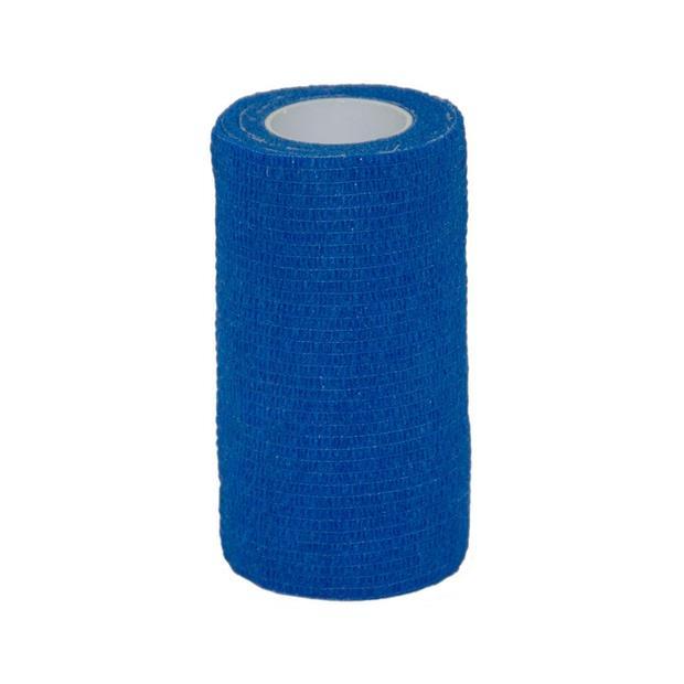 Value Plus Valuwrap Cohesive Bandage 10cm Blue Each Pet: Horse Size: 0kg  Rich Description: TheValue...