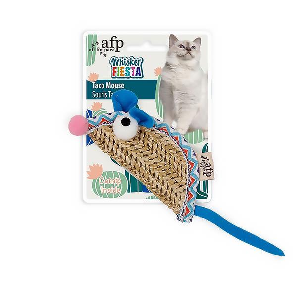 Afp Whisker Fiesta Taco Mouse Each Pet: Cat Category: Cat Supplies  Size: 0kg Colour: Multi  Rich...