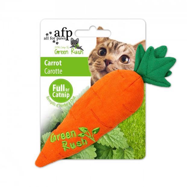Afp Green Rush Carrot Cat Toy Each Pet: Cat Category: Cat Supplies  Size: 0kg  Rich Description: The...