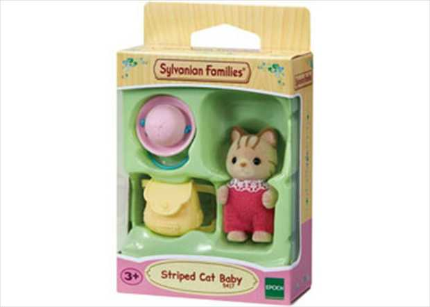 Apricot Sandy comes complete with bottle and crib. Each figurine has its own story and can be...
