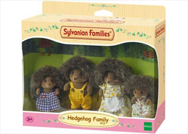 Meet the Hedgehog Family, pack includes: Father Mortimer, Mother Eleanor, Brother Maxwell & Sister...