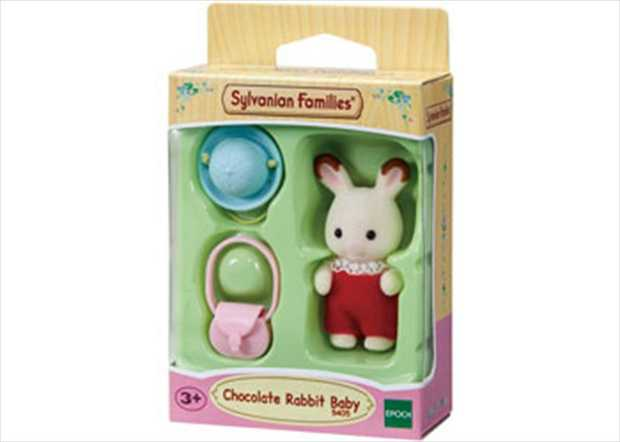 The Chocolate Rabbit baby comes with Chocolate Rabbit baby figure, a hat and a pochette. Dressed in...