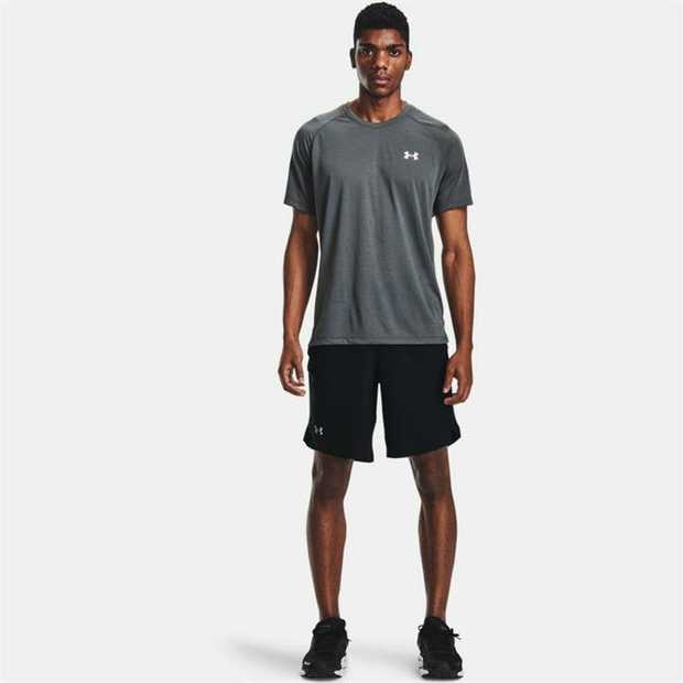 UA Microthread fabric dries fast, won't cling, stretches without absorbing sweat & is recyclable...