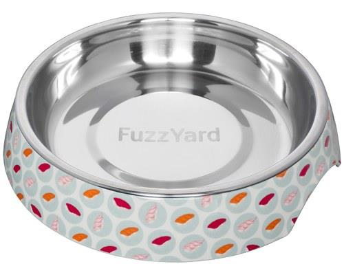 FUZZYARD SUSHI DELIGHT CAT BOWLWith a sturdy melamine shell with a vibrant Sushi pattern, make no...