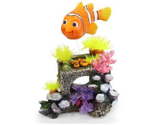 KAZOO BLOCK W/FLOATING FISH & AIR - MEDIUMCongratulations, you found Nemo!Kazoo's fish tank...