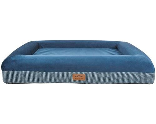 KAZOO WOMBAT PLUSH BED BLUE LARGEWe're lounging in the lap of luxury now, friends, this stylish dog bed...