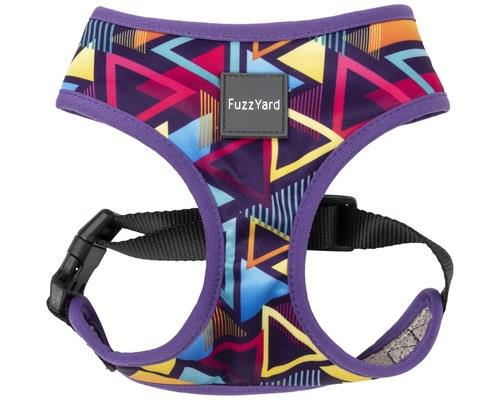 FUZZYARD DOG HARNESS PRISM LARGEPupper didn't raise no square... more of a triangle.Featuring a...