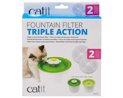 CATIT 2.0 SENSES FLOWER WATER FOUNTAIN WATER SOFTENING FILTER SETCats are picky, especially when it...