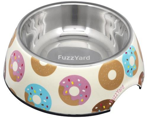 FUZZYARD GO NUTS DONUTS DOG BOWL MEDIUMIt's nuts!Let's face it - who doesn't like a donut? FuzzYard has...