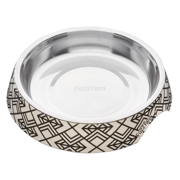 Fuzzyard Gatsby Cat Bowl Each Pet: Cat Category: Cat Supplies  Size: 0.3kg Colour: Black  Rich...