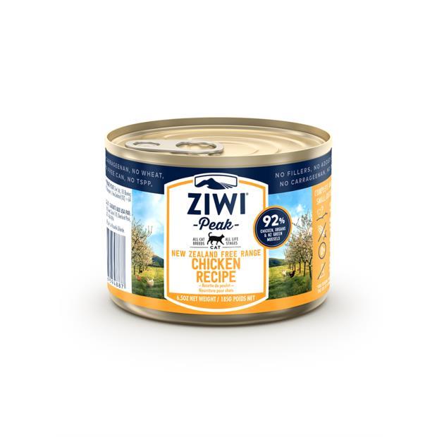 Ziwi Peak Chicken Wet Cat Food Cans 12 X 185g Pet: Cat Category: Cat Supplies  Size: 3kg  Rich...
