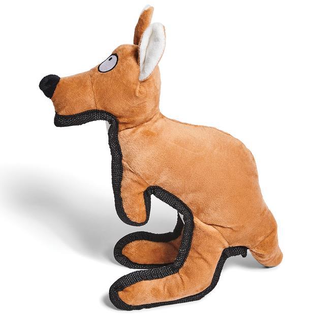 Kazoo Furries Tough Kangaroo Dog Toy Medium Pet: Dog Category: Dog Supplies  Size: 0.1kg  Rich...