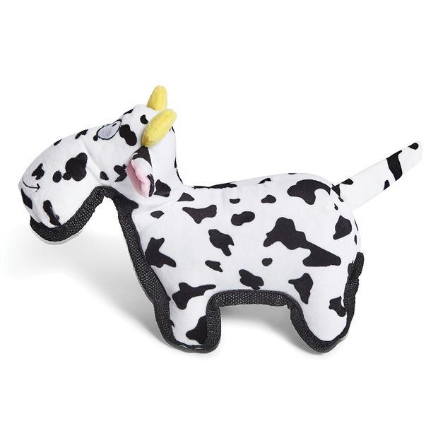 Kazoo Furries Tough Cow Dog Toy Medium Pet: Dog Category: Dog Supplies  Size: 0.2kg  Rich Description:...