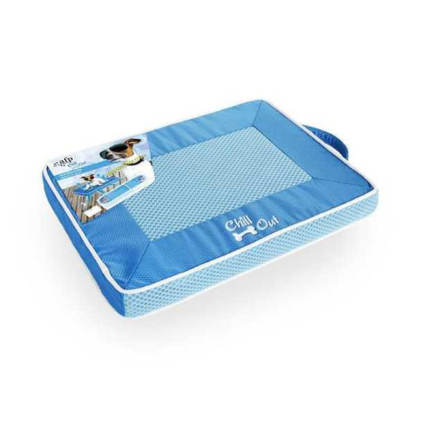 Afp Chill Out Fresh Breeze Mat Medium Pet: Dog Category: Dog Supplies  Size: 5.6kg Colour: Blue  Rich...