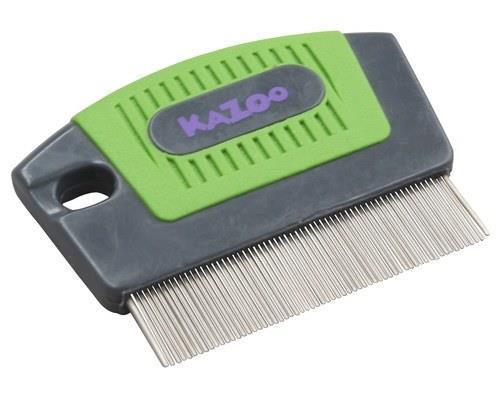 KAZOO GROOMING FLEA COMB FINE TOOTHThe Kazoo Grooming Flea Comb Fine Tooth is ideal for combing out...