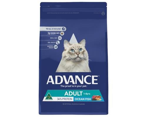 Advance Fish Adult Cat Dry Food, 3kgAdvance use the highest quality Australian fish and chicken in...