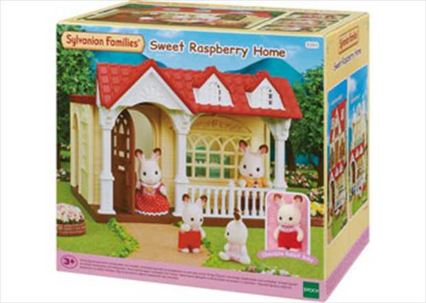 This cute little home is the ideal start to your journey of developing your very own Sylvanian Families...