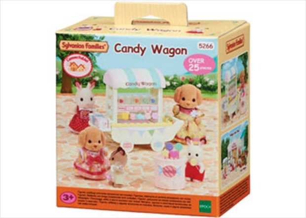 The Candy Wagon comes with lots of colourful candy and drawers. The movable shelf can be attached to...