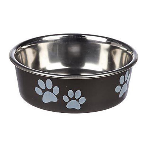 Loving Pets Bella Bowl Espresso Medium Pet: Dog Category: Dog Supplies  Size: 2.3kg Colour: Brown  Rich...