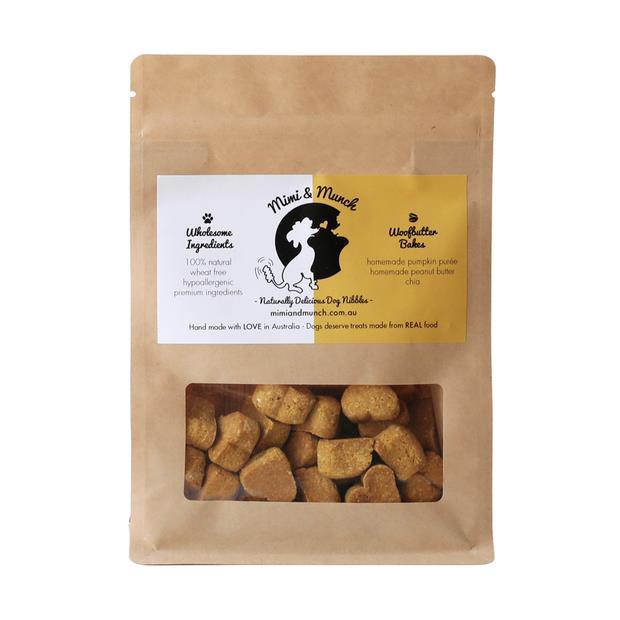 Mimi And Munch Woofbutter Bakes Mini Pet: Dog Category: Dog Supplies  Size: 0.2kg  Rich Description:...