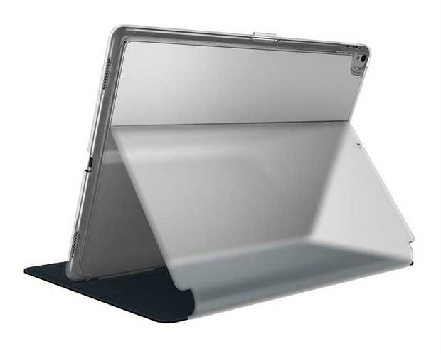 Clear polycarbonate shell Built-in adjustable stand Clear elegant design Raised edge Recessed magnetic...