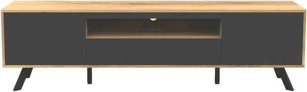 A spacious TV Cabinet that has been designed to bring grandeur to the modern living room. It features a...