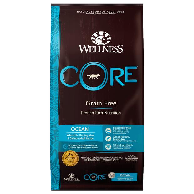 Wellness Core Grain Free Ocean Formula Dry Dog Food 10kg Pet: Dog Category: Dog Supplies  Size: 10kg...