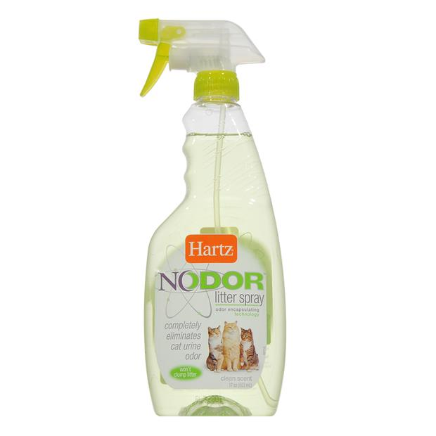 Hartz Nodor Litter Spray Clean Scented 503ml Pet: Cat Category: Cat Supplies  Size: 0.6kg  Rich...