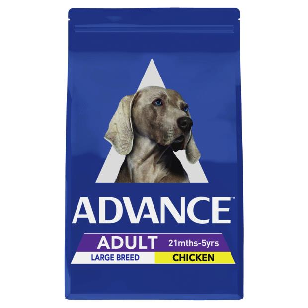 Advance Adult Large Breed Dry Dog Food Chicken 2 X 20kg Pet: Dog Category: Dog Supplies  Size: 40kg...