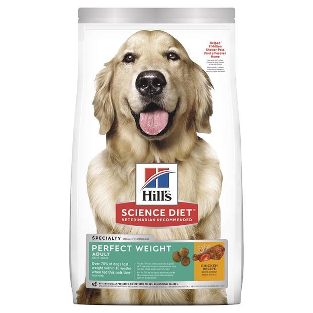 Hills Science Diet Adult Perfect Weight Dry Dog Food 12.8kg Pet: Dog Category: Dog Supplies  Size:...