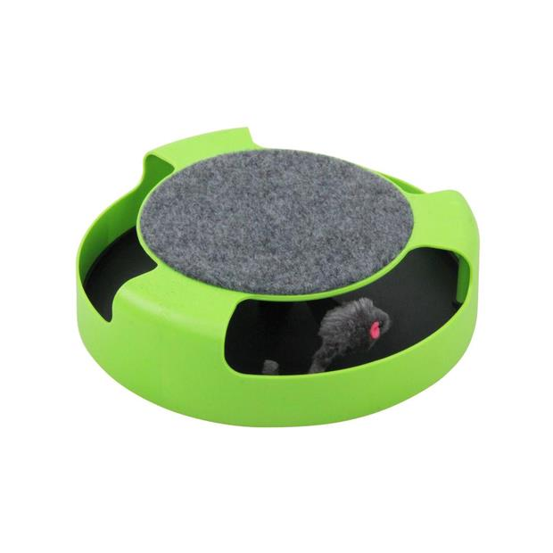 Pawise Cat Toy Chase And Scratch Circle Each Pet: Cat Category: Cat Supplies  Size: 1.2kg  Rich...