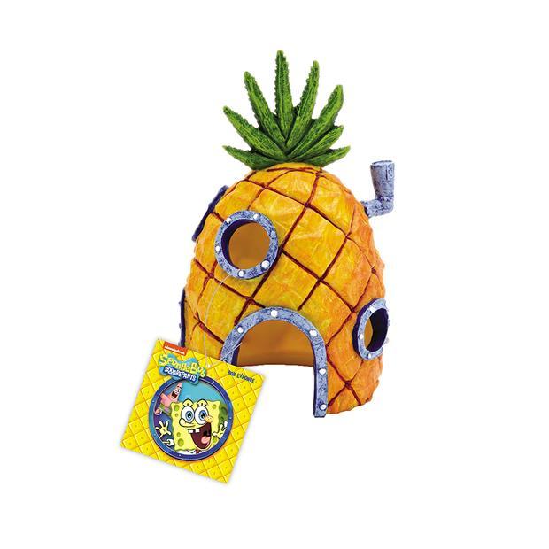 Penn Plax Spongebob Squarepants Pineapple Home Resin Replica Each Pet: Fish Category: Fish Supplies ...