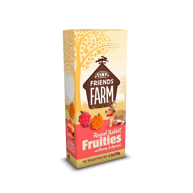 Tiny Friends Farm Russel Rabbit Fruitees 120g Pet: Small Pet Category: Small Animal Supplies  Size:...