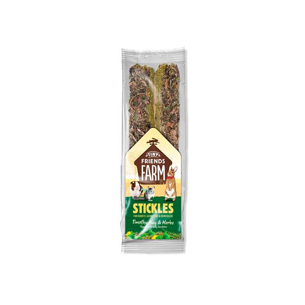 Tiny Friends Farm Tim Hay And Herb Stickle 100g Pet: Small Pet Category: Small Animal Supplies  Size:...