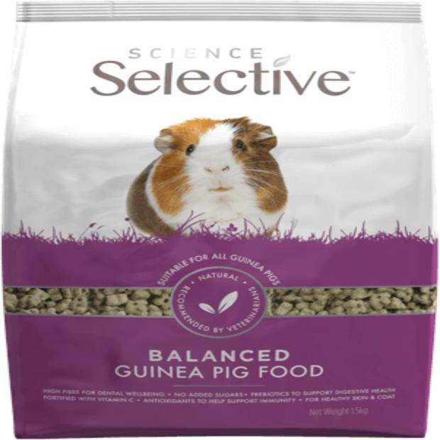 Science Selective Supreme Guinea Pig Food 2kg Pet: Small Pet Category: Small Animal Supplies  Size:...