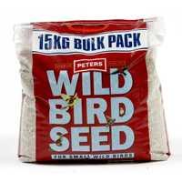 Peters Wild Bird Seed Small Birds 15kg Pet: Bird Category: Bird Supplies  Size: 15kg  Rich Description:...