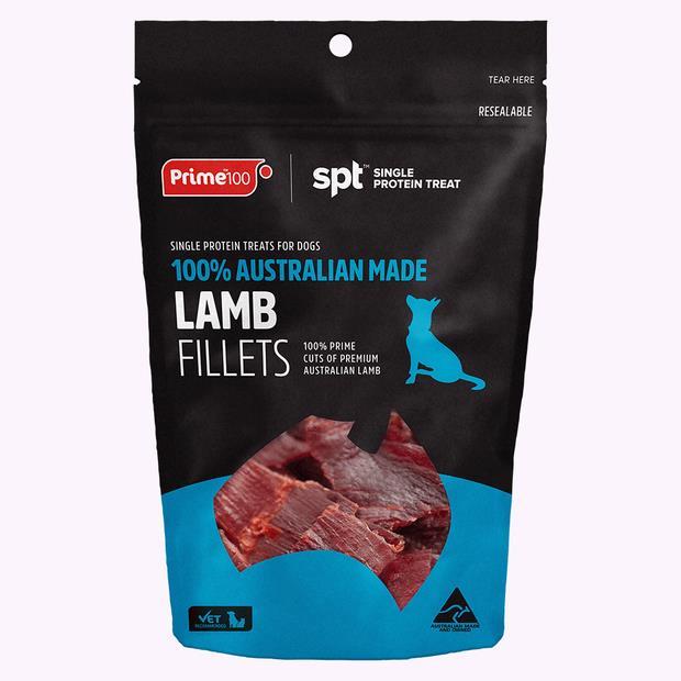 Prime100 Lamb Fillet Treat 100g Pet: Dog Category: Dog Supplies  Size: 0.1kg  Rich Description: Made in...