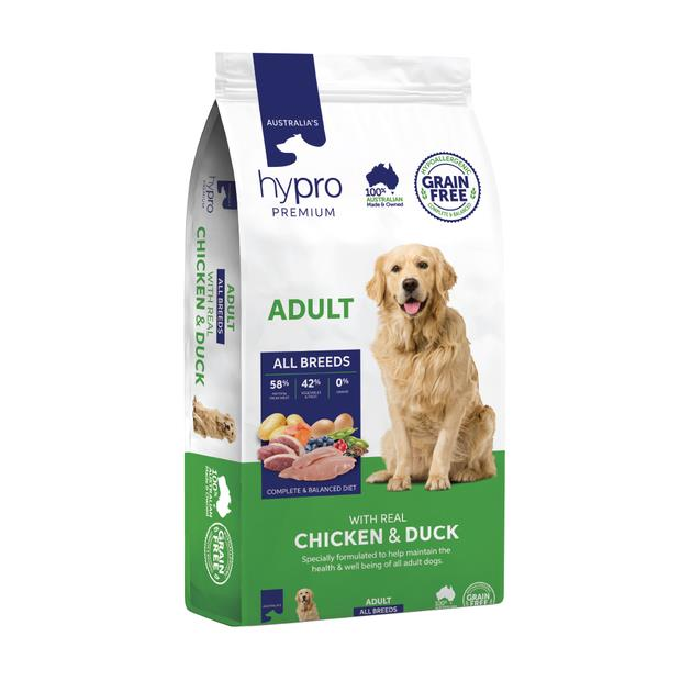 Hypro Premium Dry Dog Food Adult Chicken And Duck 9kg Pet: Dog Category: Dog Supplies  Size: 9.1kg...