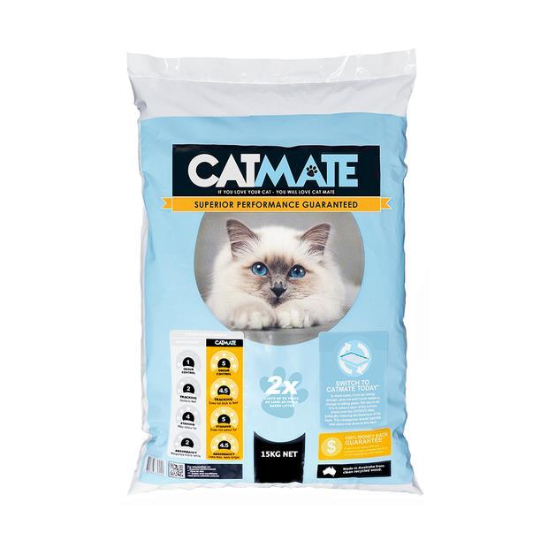 Catmate Wood Pellet Cat Litter 15kg Pet: Cat Category: Cat Supplies  Size: 15kg Material: Wood  Rich...