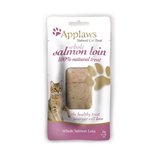 Applaws Cat Loin Treat Salmon 3 X 25g Pet: Cat Category: Cat Supplies  Size: 1.4kg  Rich Description:...