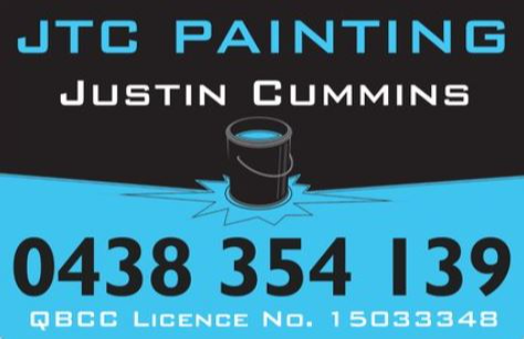 Are you in need of a fresh coat of paint on your property.Call Justin from JTC Painting on 0438 354 139...