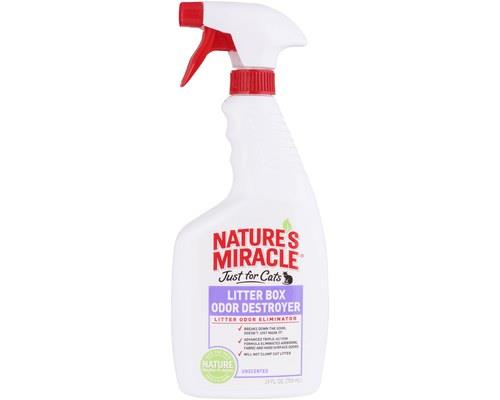 NATURES MIRACLE LITTER BOX ODOUR DESTROYER 709MLNature's Miracle is the solution to eliminating...